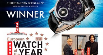 Christiaan van der Klaauw Astronomical Watches gewinnt Wahl zur European Watch of the Year 2014 in London - International Luxury Partners - EBEL & STAUDT GERMANY